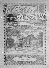 The Normal Offering, June 1895