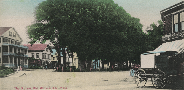 Central Square, Bridgewater, ca. 1900