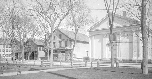 Central Square, Bridgewater, ca. 1880
